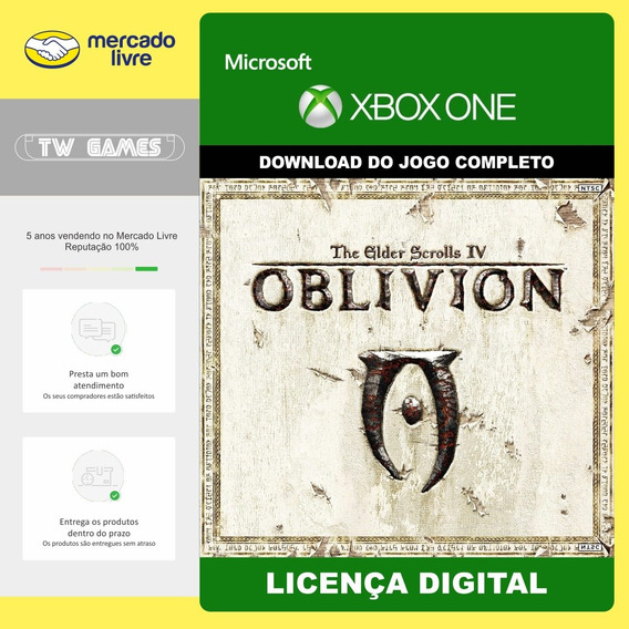 The Elder Scrolls Iv Oblivion Digital Retro Xbox One