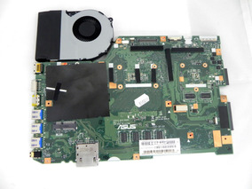 Placa Mãe Asus X751l X751ld 90nb08d0-k00010 Com Cooler Usada