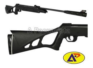 Carabina Pressão Cbc Nitro-six Oxidada Preta 6.0mm
