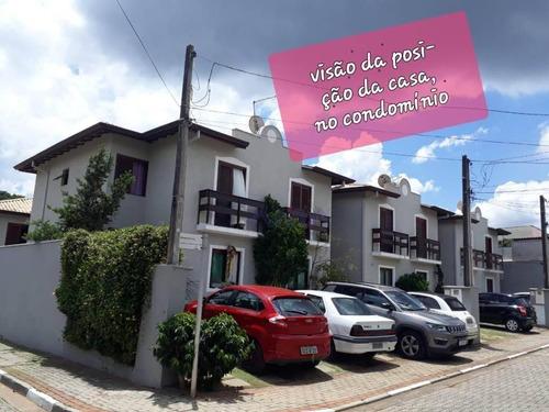 Casa Com 3 Dormitórios(suíte) À Venda, 105 M² Por R$ 530.000 -san Filipi - Cotia/sp - Ca1971
