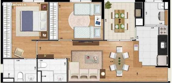 Apartamento A Locação Em Mogi Das Cruzes, Centro, 2 Dormitórios, 1 Suíte, 2 Banheiros, 2 Vagas - 830