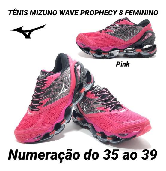 Tênis Mizuno Wave Prophecy 8 Linha Premium Feminino
