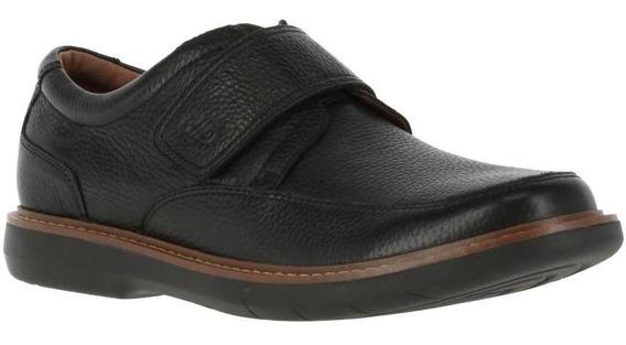 Zapatos Hombre Hush Puppies Iowa Black[111 Comfort Flex