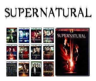 Supernatural Serie Completa Las 14 Temporadas Hd Digital