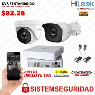 Kit 2 3 4 6 8 16 Camaras Seguridad Cctv Hd 720p 1080p Hilook