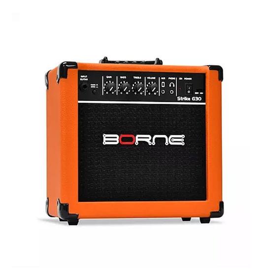Cubo Amplificador Guitarra Borne Strike G30