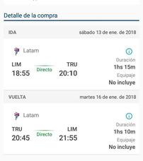 Pasajes En Avion A Trujillo Ida Y Vuelta 100 Soles