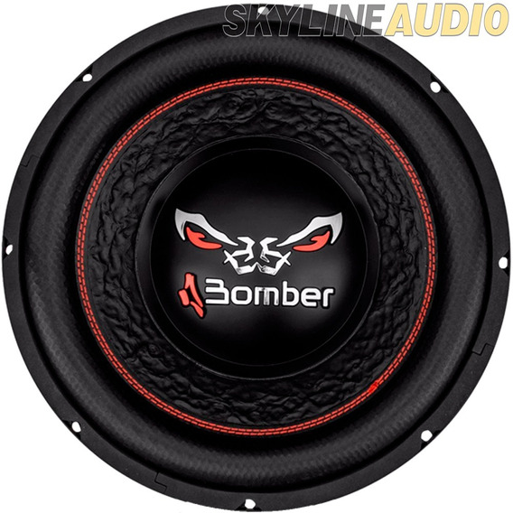 Subwoofer Bomber Bicho Papao 12 800w 4 Ohms Bobina Doble