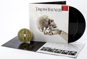 Lp Duplo + Cd Dream Theater - Distance Over Time Importado