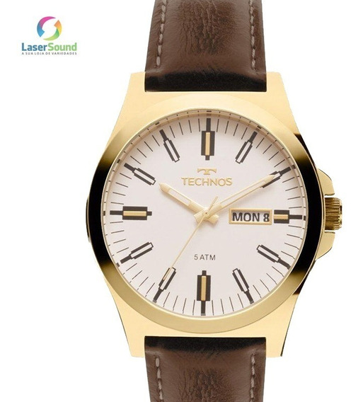Relógio Technos Masculino 2305az/2b C/ Garantia E Nf