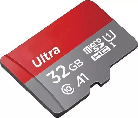 Cartão Micro Sd Sdhc Memória Ultra 32gb Class10 98mb/s A1
