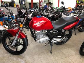 Suzuki En125cc Color Rojo 0km Año 2019 Entrega Inmediata