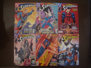 Hq Superman 1ª Série Panini Completo 1 Ao 114 + Anual