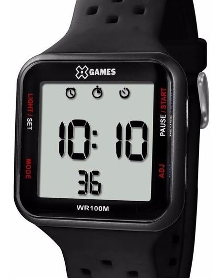 Relógio X-games Masculino Digital Quadrado - Xgppd090 Bxpx