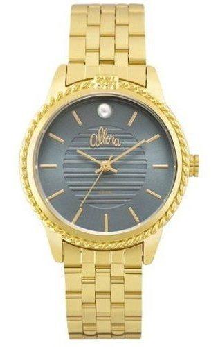 Relógio Feminino Allora Ao Mar Dourado Al2035fkv/4a