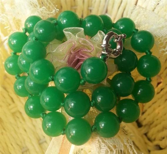 Colar Jade Verde