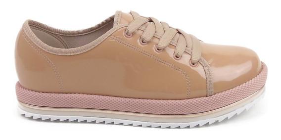 Sapato Feminino Oxford Beira Rio Tratorado Novo Na Caixa