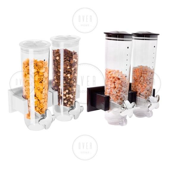 Dispenser Cereales Doble Pared Cerealero Accesorio Cocina Pc