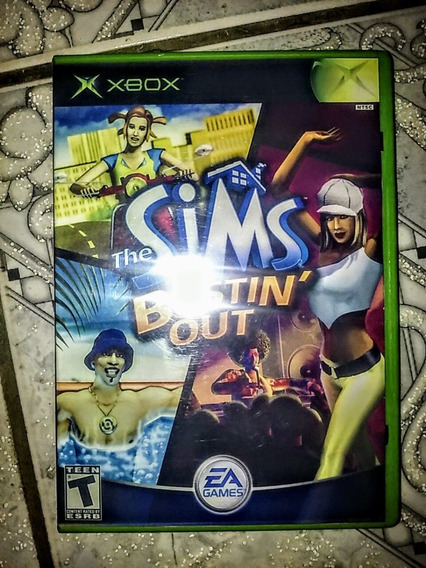 Xbox Clássico - The Sims Bustin Out Original