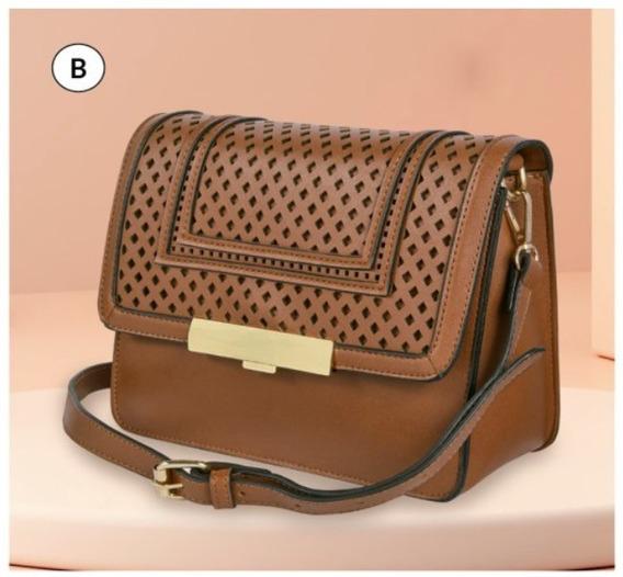 Bolsa Dama Chocolate 854-26 Cklass Hand Bags 1-20 J