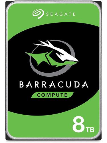 Seagate Barracuda 8tb Disco Duro Hdd Sata 6 Gb/s 3.5 In