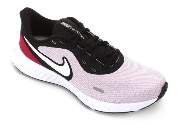 Tênis Nike Revolution 5 Lilás Original C/nota Fiscal