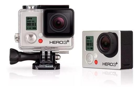 Gopro Hero3+ Silver Edition + Acessórios + Microsd 32gb