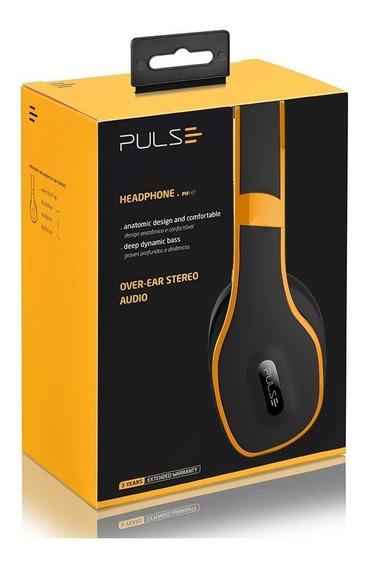 Fone De Ouvido Bluetooth 4.0 Estéreo Sem Fio Com Microfone