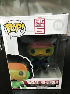 Figura Funko Pop Wasabi No Ginger Big Hero 6 Disney #110