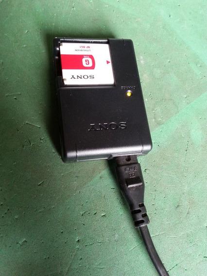 Carregado E Bateria Camera Sony Bc - Csg (dvn-364)