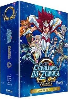 Dvd Os Cavaleiros Do Zodíaco - Ômega - 2ª Temporada - Box 1
