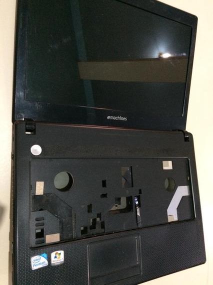 Carcaça Notebook Acer D728 4674 Completa + Dobradiças