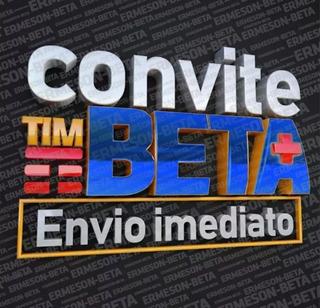 Convite Beta Tim Até 35gb