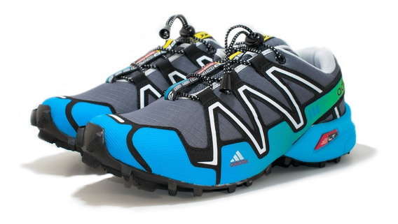 Tênis Masculino Speedcross Corrida Caminhada Trava !