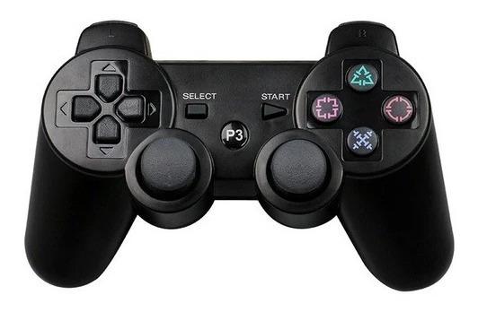 Controle Dualshock Playstation Play 3 Sem Fio