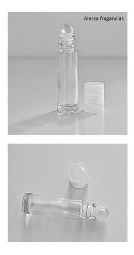 Imagen 1 de 1 de Frasco Botella Vidrio Perfumero,(no Plumín)  Roll-on X12