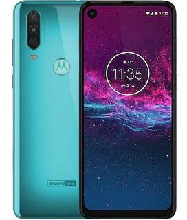 Motorola Moto One Action 128gb 4gb Nuevo Sellado Aqua