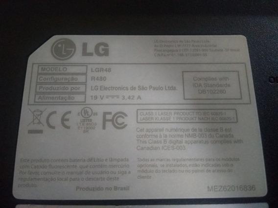 Notebook R480 Lg