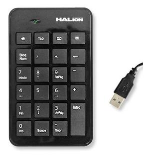 Teclado Numerico Halion Para Laptops Notebooks Tablet (k119)