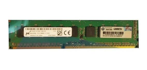 Memoria Servidor Hp 8gb Ml10 Ml310e Dl380 Dl320 Dl350 12800e