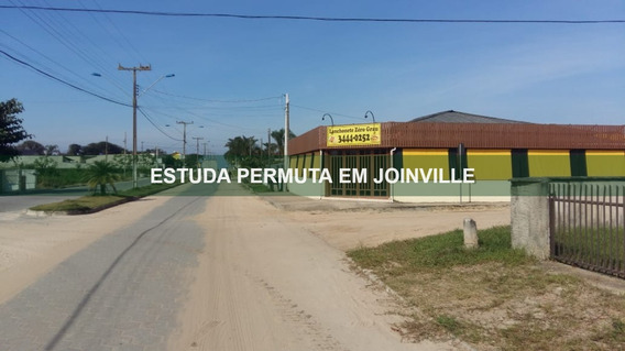 Imóvel Comercial De Esquina | Praia Do Ervino | Estuda Permuta Em Joinville - Sa01448 - 68085104