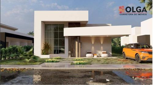 Casa Moderna E Sofisticada Em Condomínio Fechado, À Venda - Gravatá/pe - Ca0606