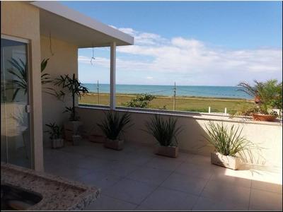 Oportunidade!!! Duplex Frente Para A Praia Em Rio Das Ostras/barra De São João, Região Dos Lagos - Ca00012 - 4526997