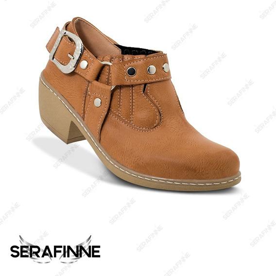 Bota Zapato Charrito Texanas Mujer Merville 5500