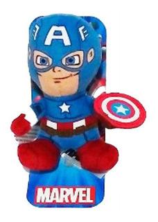 Mini Peluche Avengers 10cm Personajes Jugueterialeon