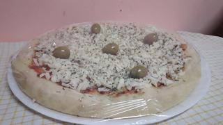 Pizzas Prelistas Muzzarella - Pack 10 Unidades