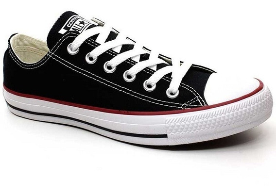 Tênis All Star Converse Unissex Do 34/43 Preto Allstar