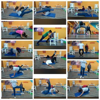 Clases De Pilates Mat Y Ritmos .combo X Mes.