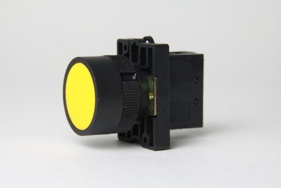 Botão De Pulso Telemecanique Amarelo Zb2-be101