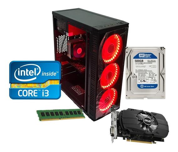 Pc Gamer Core I3 8gb Ram Hd 500gb Gt1030 Ou Rx 550 Promoção